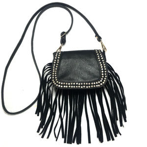 New d'Orcia fringe leather crossbody bag